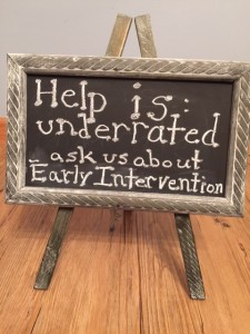 Ask us about Early Intervention